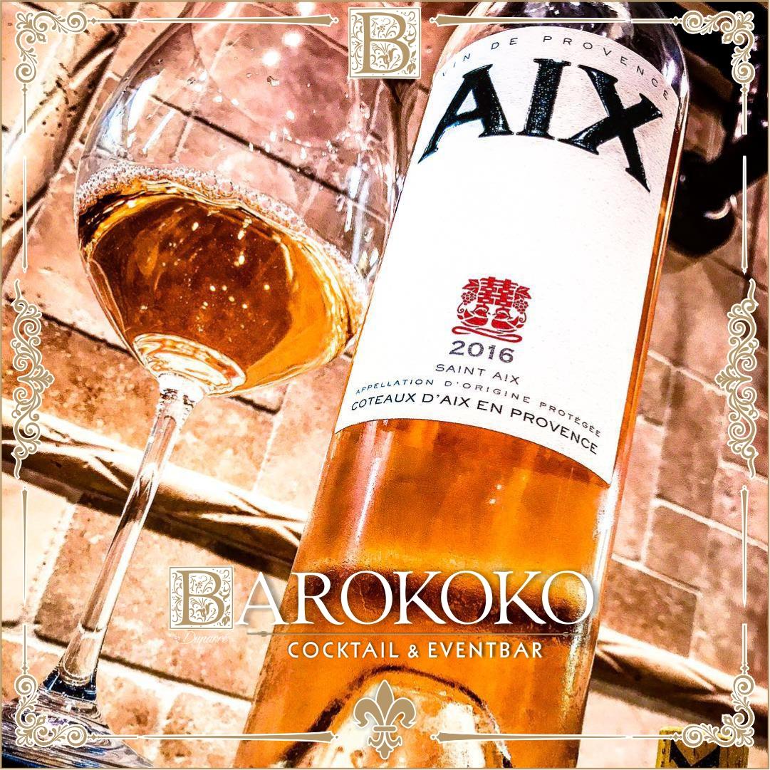 Saint AIX Rosé im BARokoko in Gotha