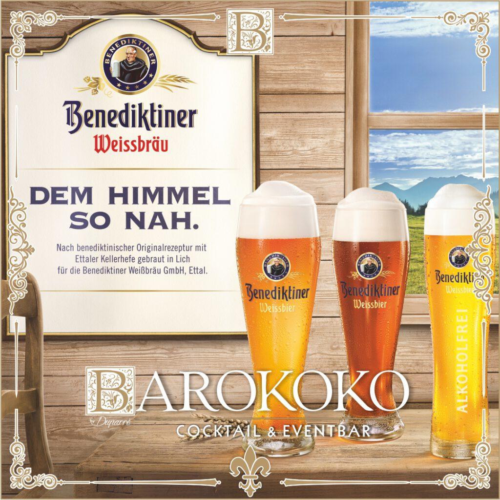 Benediktiner Weißbier im BARokoko in Gotha