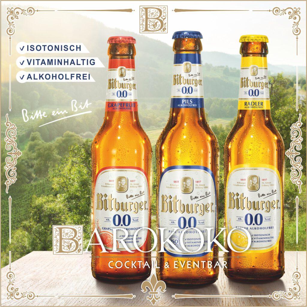 Bitburger alkoholfrei im BARokoko in Gotha