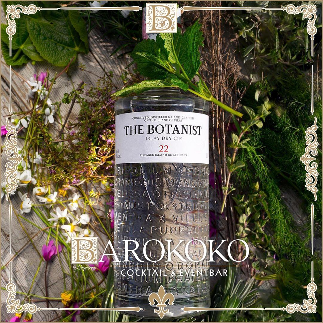 The Botanist Gin im BARokoko in Gotha