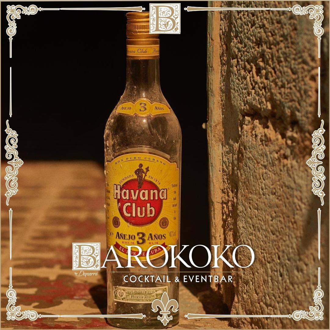 Havana Club 3 Anos im BARokoko in Gotha