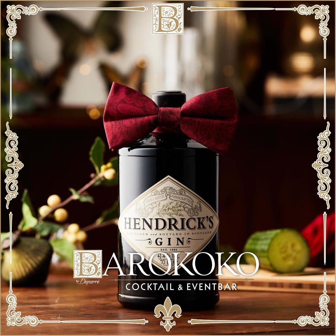 Hendricks Gin im BARokoko in Gotha