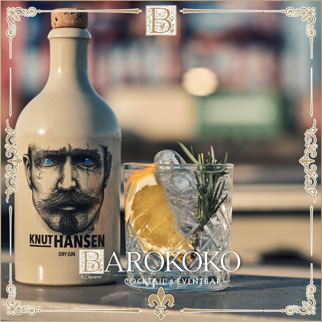 Knut Hansen Gin im BARokoko in Gotha