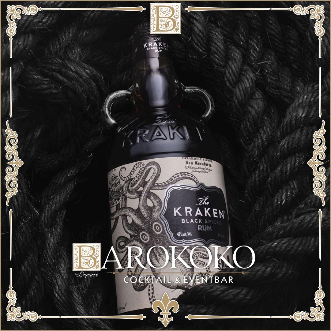 Kraken Black Spiced Rum im BARokoko in Gotha