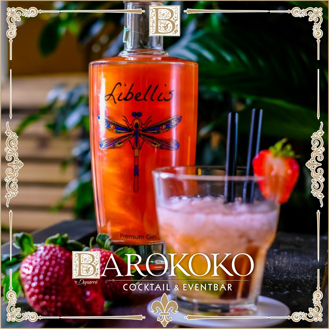 Libellis Premium Gin im BARokoko in Gotha