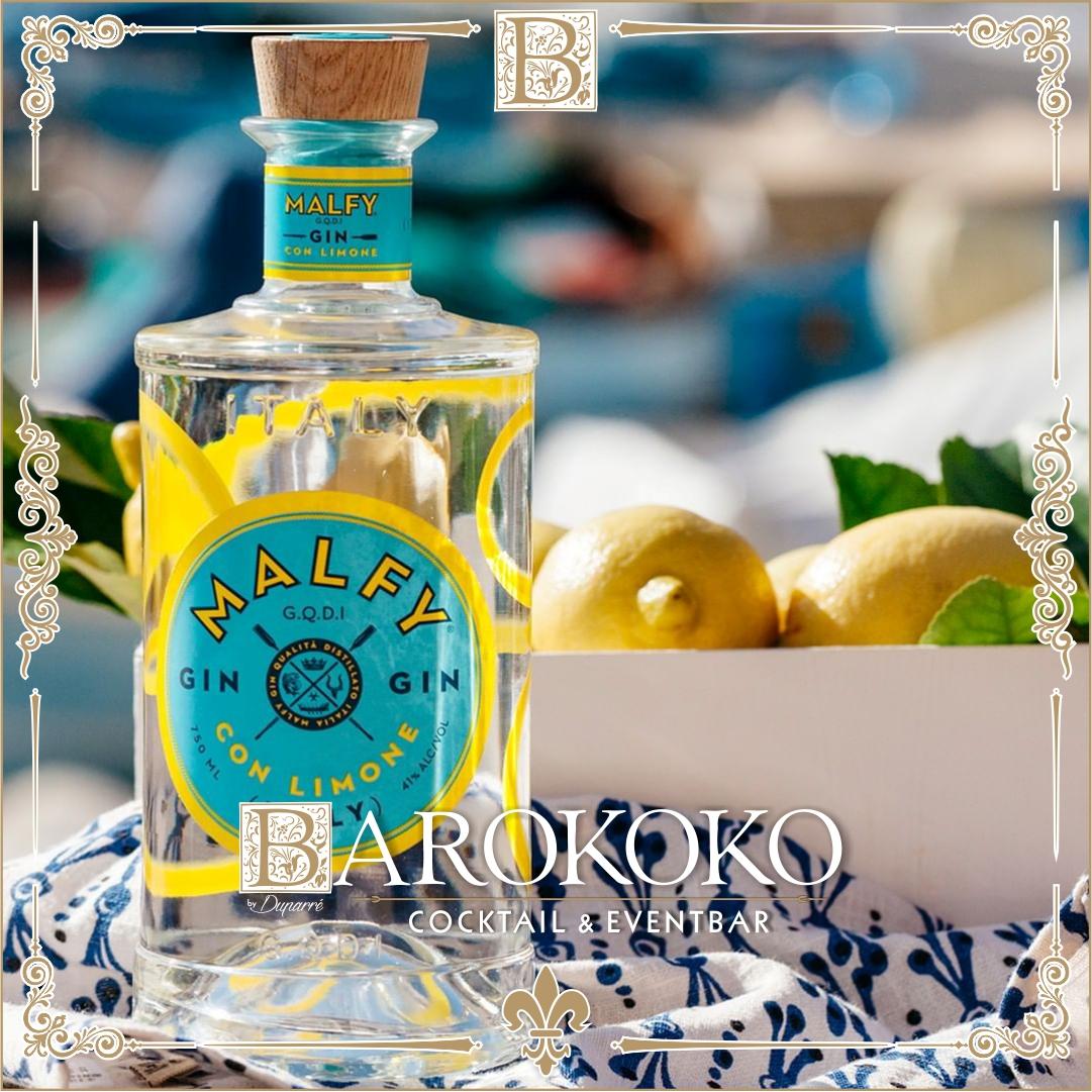 Malfy Gin Limone im BARokoko in Gotha