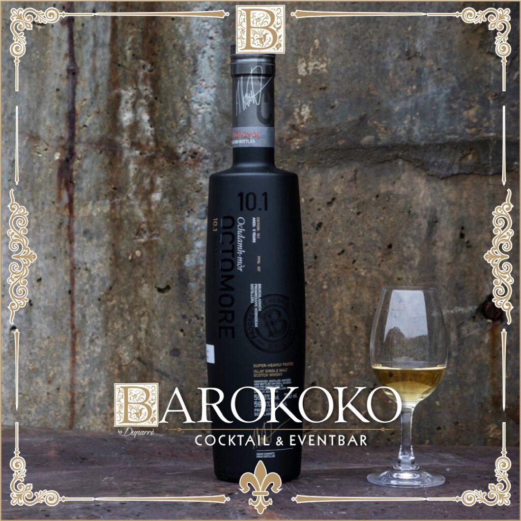 Octomore 10.1 Whisky im BArokoko in Gotha