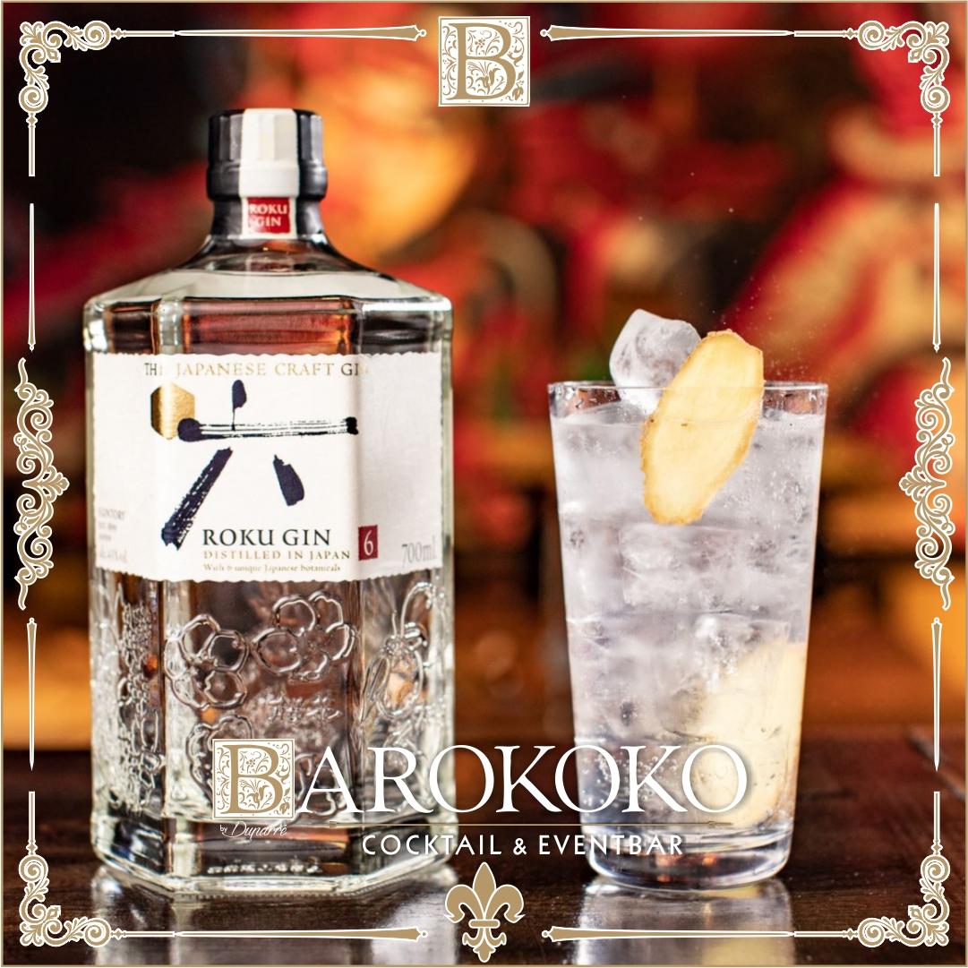 Roku Gin im BARokoko in Gotha