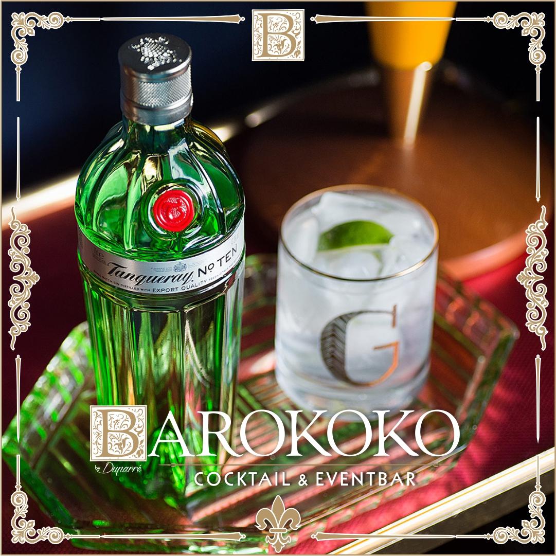 Tanqueray Gin im BARokoko in Gotha