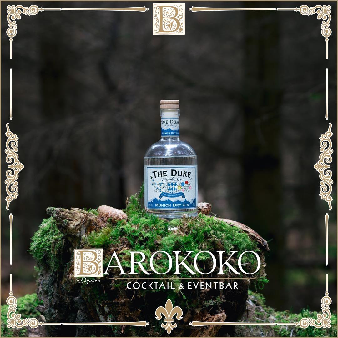 The Duke Wanderlust Gin im BARokoko in Gotha