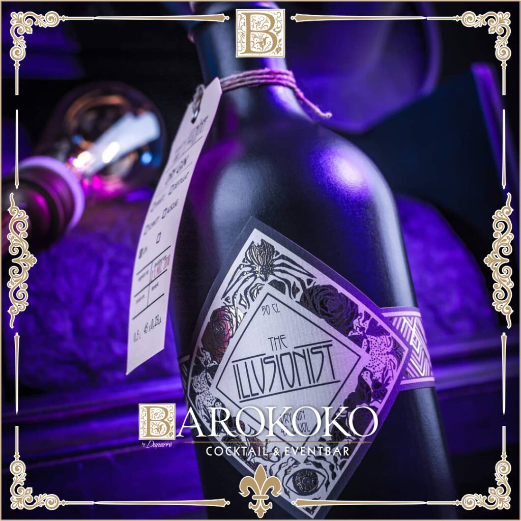 Illusionist Dry Gin im BARokoko in Gotha