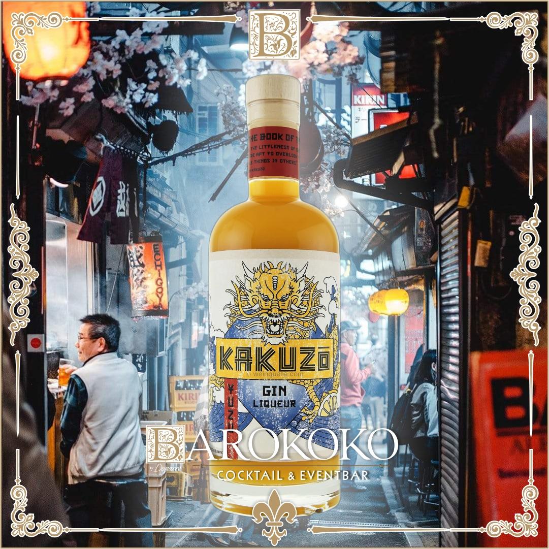 KAKUZO Gin Liqueur im BARokoko in Gotha