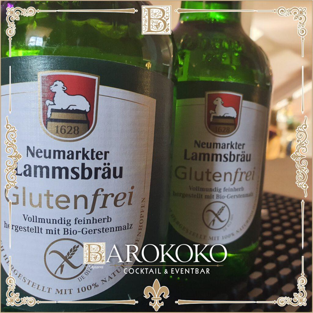 Neumarkter Lammsbräu glutenfreies Bier im BARokoko in Gotha