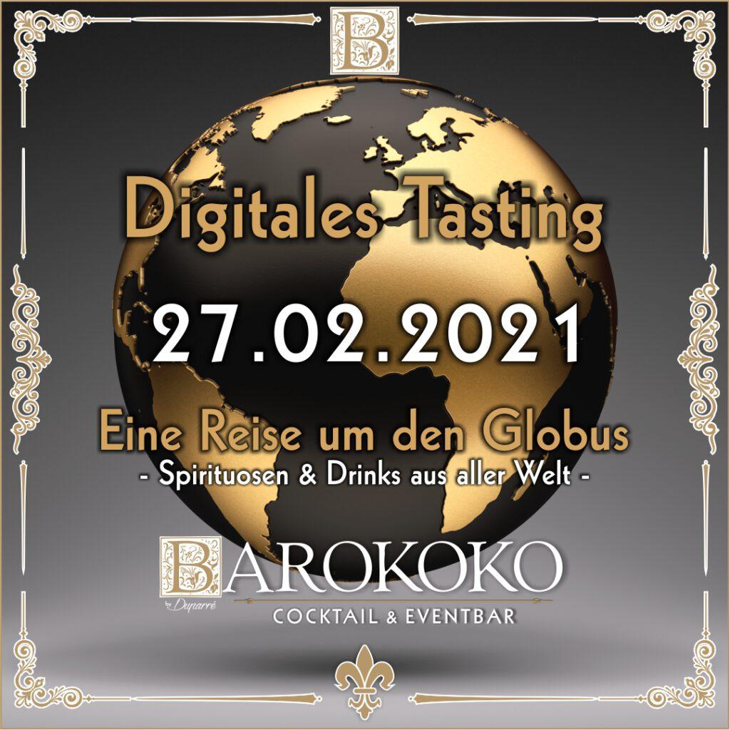 Digitales Tasting im BARokoko in Gotha
