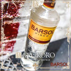 Barsol Pisco Quebranta im BARokoko in Gotha